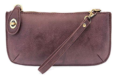 Joy Susan - Mini-Bodybag Damen, Violett (Aubergine Lux), Einheitsgröße - Aubergine Violett