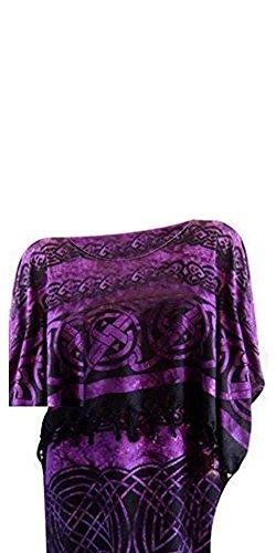 Cool Kaftans - Copricostume -  donna Purple Black
