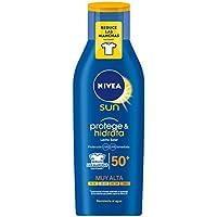 Nivea Sun - Crema solar hidratante Protege & Hidrata FP50+ - Protección UV muy alta - 400 ml