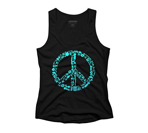 War Is Peace Women's Racerback Tank Top - Design By Humans