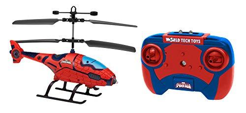 World Tech Toys 34890Marvel Spider Man Shaped 2ch IR helicóptero