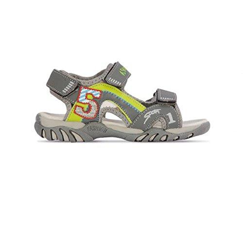 Superga Scarpe Kids Sandali Pelle Grigia S63R114-GRIGIO
