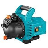 GARDENA 01707-61 Gartenpumpe 3000/4 600 W, türkis, schwarz, Orange