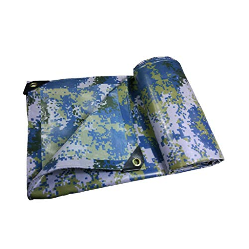 FurnitureShop UK Planen Camouflage Plane Waterproof Tuch-Sunscreen Outdoor-Sonnenschirm Regendichtes...