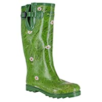 Wyre Valley Womens Pattern Animal Wellingtons Wellies Muck Boots 8