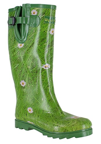 Wyre Valley Womens Pattern Animal Wellingtons Wellies Muck Boots