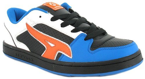 new-mens-gents-white-airwalk-lace-up-fashion-skate-shoes-trainers-white-black-blue-orange-uk-7-12-12