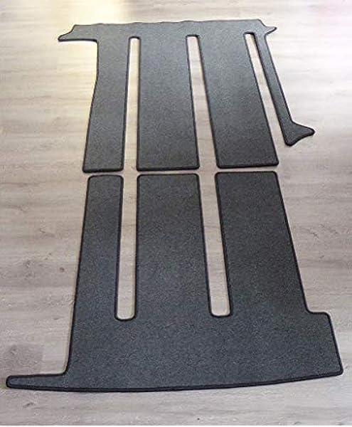 Autix Gastraum Teppich Kompatibel Mit Gastraum Teppich Fußmatte Grau Meliert Vw T6 California Coast Ocean 3 Schienen Auto