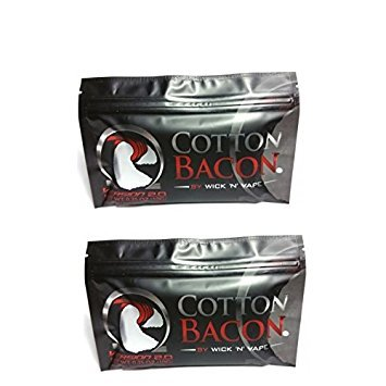 Cotton Bacon Version 2 By Wick 'N' Vape Double Pack 20 pieces
