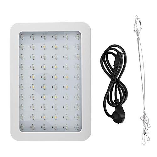 600W LED Grow Light Pflanzenlicht für Gewächshaus, Hydrokulturen,- und Zimmerpflanzen, EU-Stecker, 12,2 x 2,4 x 8,3 Zoll