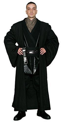 (Kostüm Star Wars Anakin Skywalker Sith - Körper Tunika Mit Schwarzer Jedi Kutte - Nachgebildetes Star Wars Kostüm - Herren: XL)