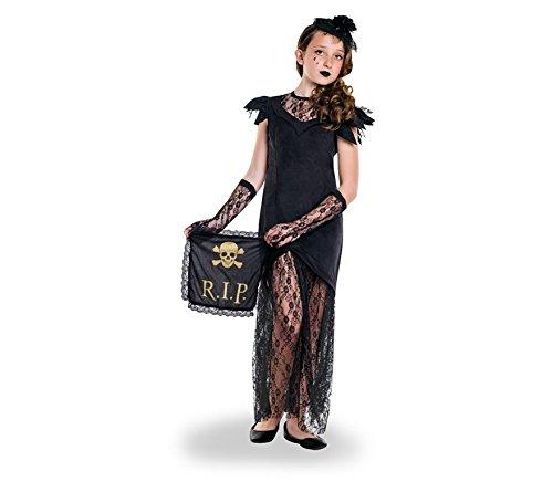 Kostüm Widow Mädchen Black - Zzcostumes Black Widow Kostüm für Ein Mädchen