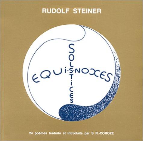 Solstices et équinoxes par Rudolf Steiner