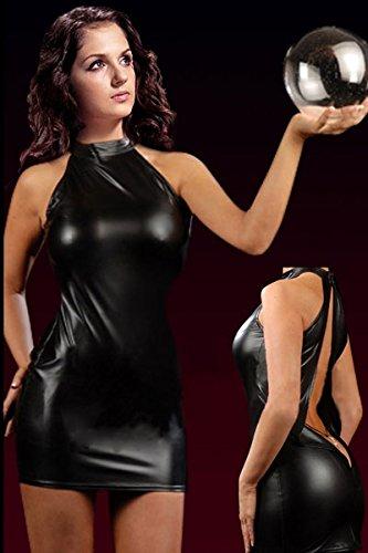 robe-courte-noire-en-vinyle-avec-dos-ouvert-effet-facebook-taille-363840