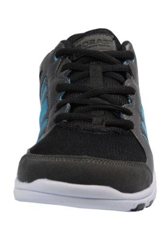 Boras 3045 Sneaker Lederimitat/Mesh Gris/noir