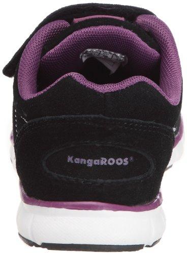 Kangaroos Nuri, Chaussures de sport fille Noir (Black/Lila)