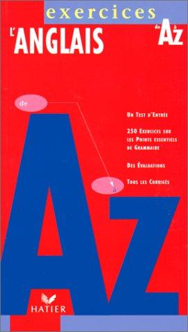 L'anglais de A à Z exercices, édition 97