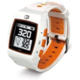 GolfBuddy WT5 Golf GPS Watch, White/Orange by GolfBuddy