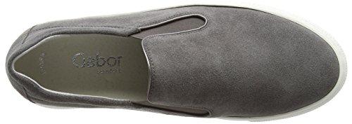 Gabor Damen Comfort Sneakers Grau (elephant 31)