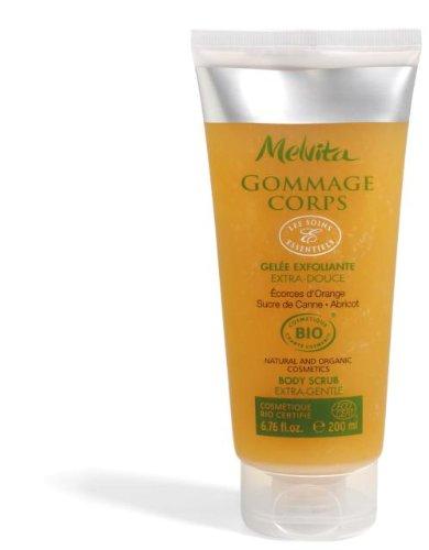 Melvita Gommage corps Orange, sucre de Canne 200ml