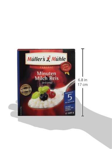 Müller's Mühle 5-Minuten Milchreis, 7er Pack (7 x 500 g Packung) - 7
