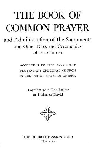 Book of Common Prayer (1928) (English Edition)