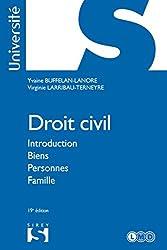 Droit civil. Introduction Biens Personnes Famille (Université)