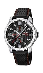 Festina Herren-Armbanduhr Analog Quarz Leder F16585-8