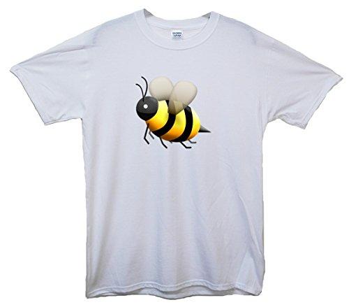 HoneyBee Emoji T-Shirt Weiß