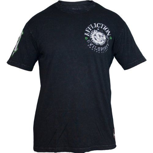Affliction Evil Spirit T-Shirt Schwarz