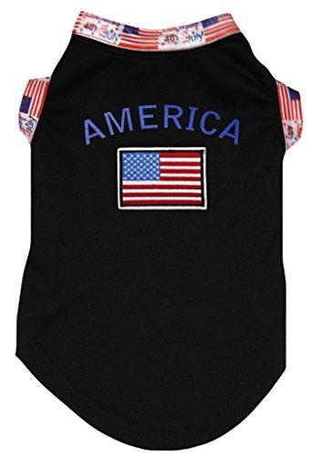 d, Motiv Amerika und Flagge, Baumwolle ()