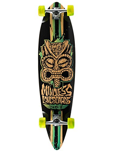 "Longboard Complete Mindless Longboards Tribal Rogue Limited Edition 38""x9.75"" C"