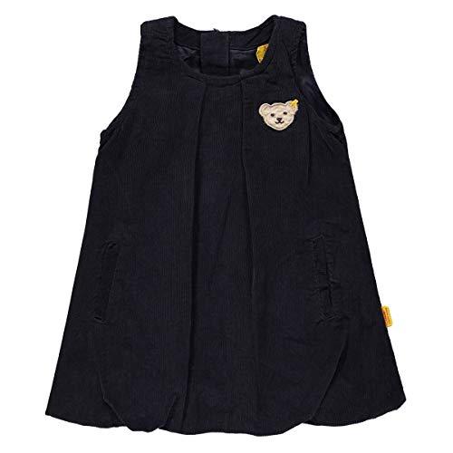 Steiff Baby-Mädchen Kleid o. Arm Kord, Blau (Marine|Blue 3032), ()