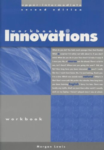 Innovations Upper-Intermediate Workbook: A Course in Natural English (Helbling Languages)