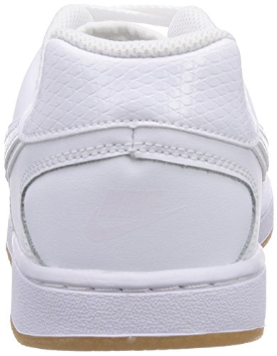 Nike Son Of Force, Baskets Basses mixte enfant Blanc - Weiß (White/White-Gum Light Brown)