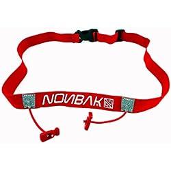 Nonbak portadorsal, race belt /RED / triatlon, running