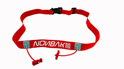 Nonbak portadorsal, race belt /RED / triatlon, running