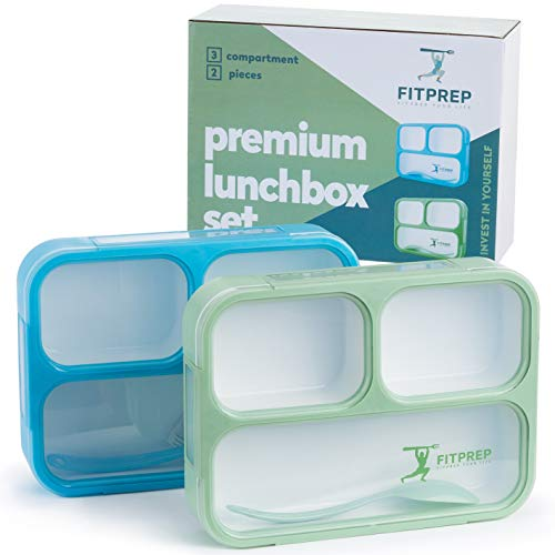 FITPREP Original Lunchbox 2er Set | Auslaufsicher - 2