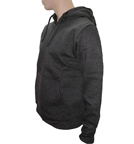 Rockit - Sweat-shirt à capuche -  - Imprimé musique et film - À capuche - Manches longues Homme Noir Noir gris fonce