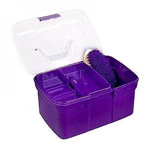 Carmesin Pferde- Putzbox befüllt Putzbox incl. 6 Zubehörte