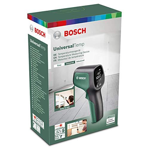 Bosch Infrarot Thermometer UniversalTemp (Temperaturbereich: -30 °C bis +500 °C, 2 AA-Batterien, im Karton)