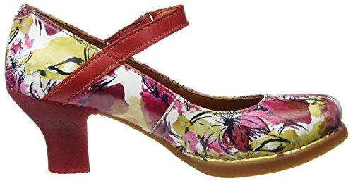 ART 0933 Fantasy Harlem, Escarpins à Bout Fermé Femme Multicolore (Flowers)