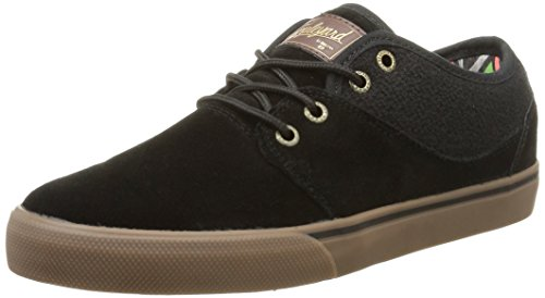Globe Mahalo, Sneaker Uomo, Nero (Black/Tobacco Light 10184), 44