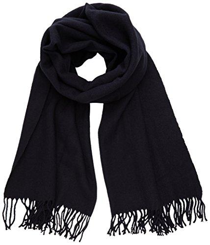 PIECES Damen Schal New EIRA Wool Scarf NOOS, Blau(Navy Blazer), One Size Preisvergleich