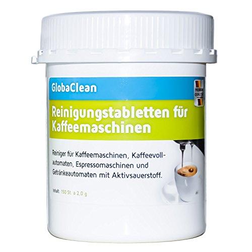 Reinigungstabletten für Kaffeevollautomaten 150 Tabletten je 2g kompatibel mit Jura Siemens Bosch...