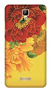 TrilMil Printed Designer Mobile Case Back Cover For Gionee P7 Max