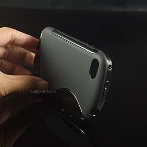 Lava A88 Magic Brand S-Line Black Soft Silicon Back Cover Case