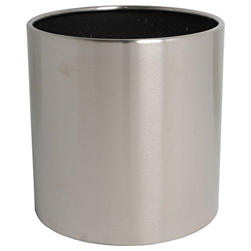 hydroflora 61422515 Pot à plante Value Line Cycle Budget diamètre 35 x 35 cm, en acier inoxydable V4A brossé mat