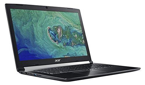 Acer Aspire 7 A717 71G 556S 439cm 173 Zoll entire HD IPS matt hiburan Notebook Intel main i5 7300HQ 8GB RAM 256GB PCIe SSD NVIDIA GeForce GTX 1050 2GB VRAM Win 10 USB 31 schwarz Notebooks