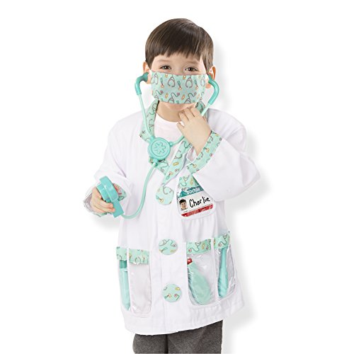 Doctor Role Play Costume Set (Outfit Kinder Dr)
